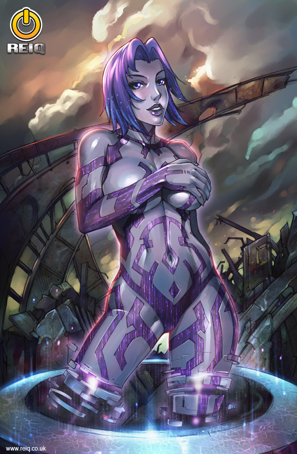 Cortana Halo Art